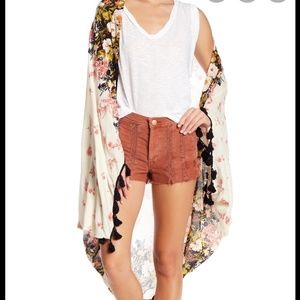 PREORDER -Free People Bali Wrapped In Blooms Shawl